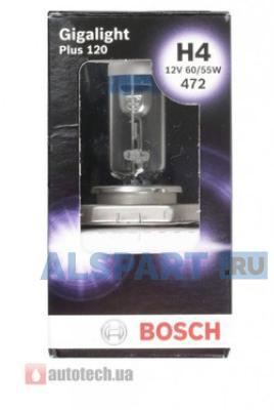 Лампа накаливания H4 12V 60/55W P43T-38