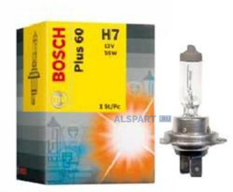 Лампа автомобильная галогенная Goodyear Н7 12V 55W PX26d More Light