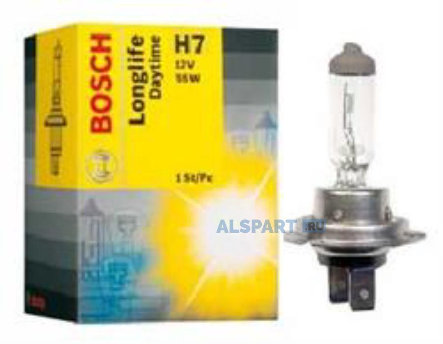 Лампа автомобильная галогенная Goodyear Н7 12V 55W PX26d Long Life