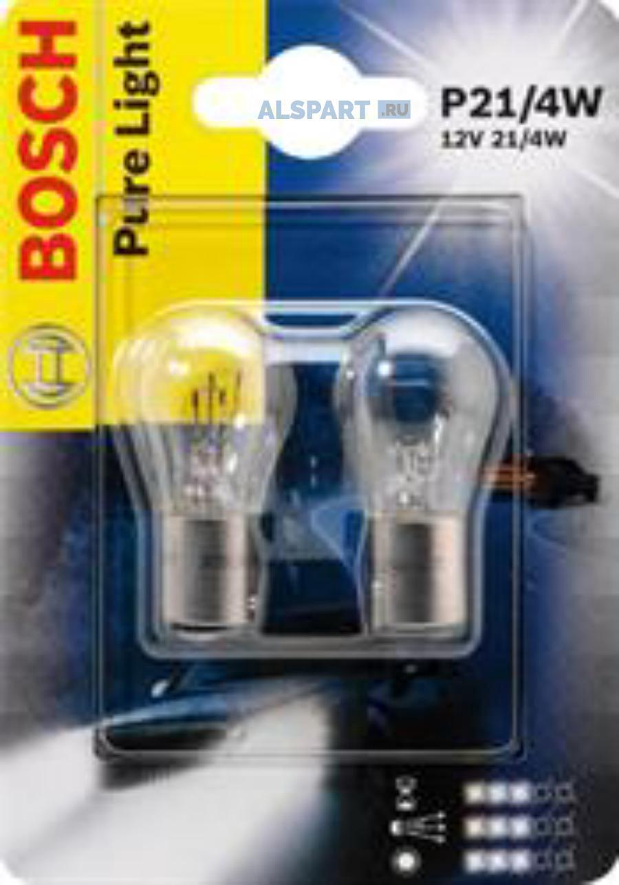 Лампа P21/4W 12V SB