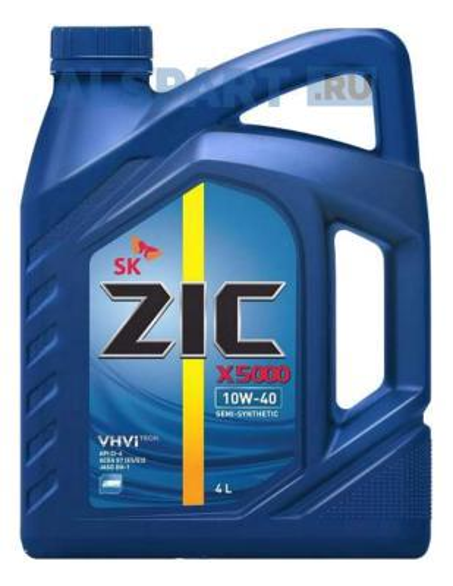 Моторное масло ZIC X5000 10w40 4л 162658