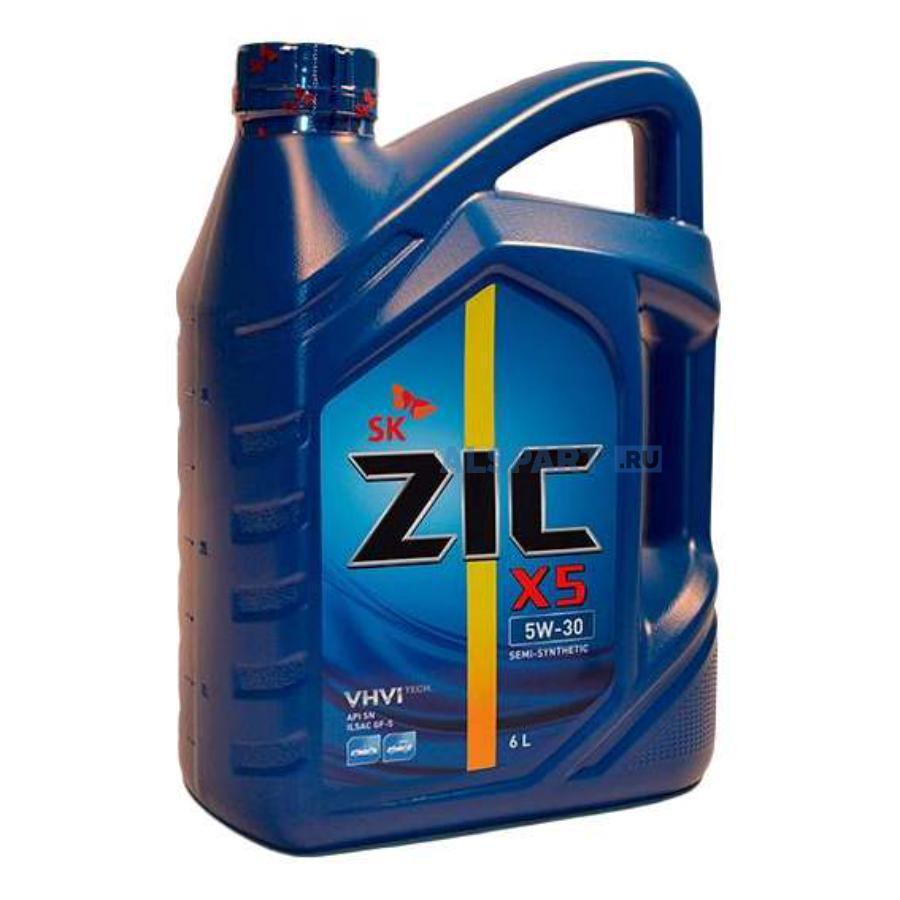 Масло моторное полусинтетическое X5 5W-30, 6л