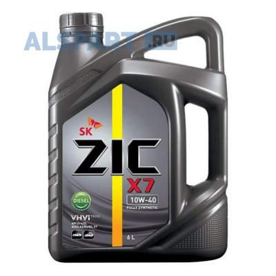 Масло моторное синтетическое X7 Diesel 10W-40, 6л