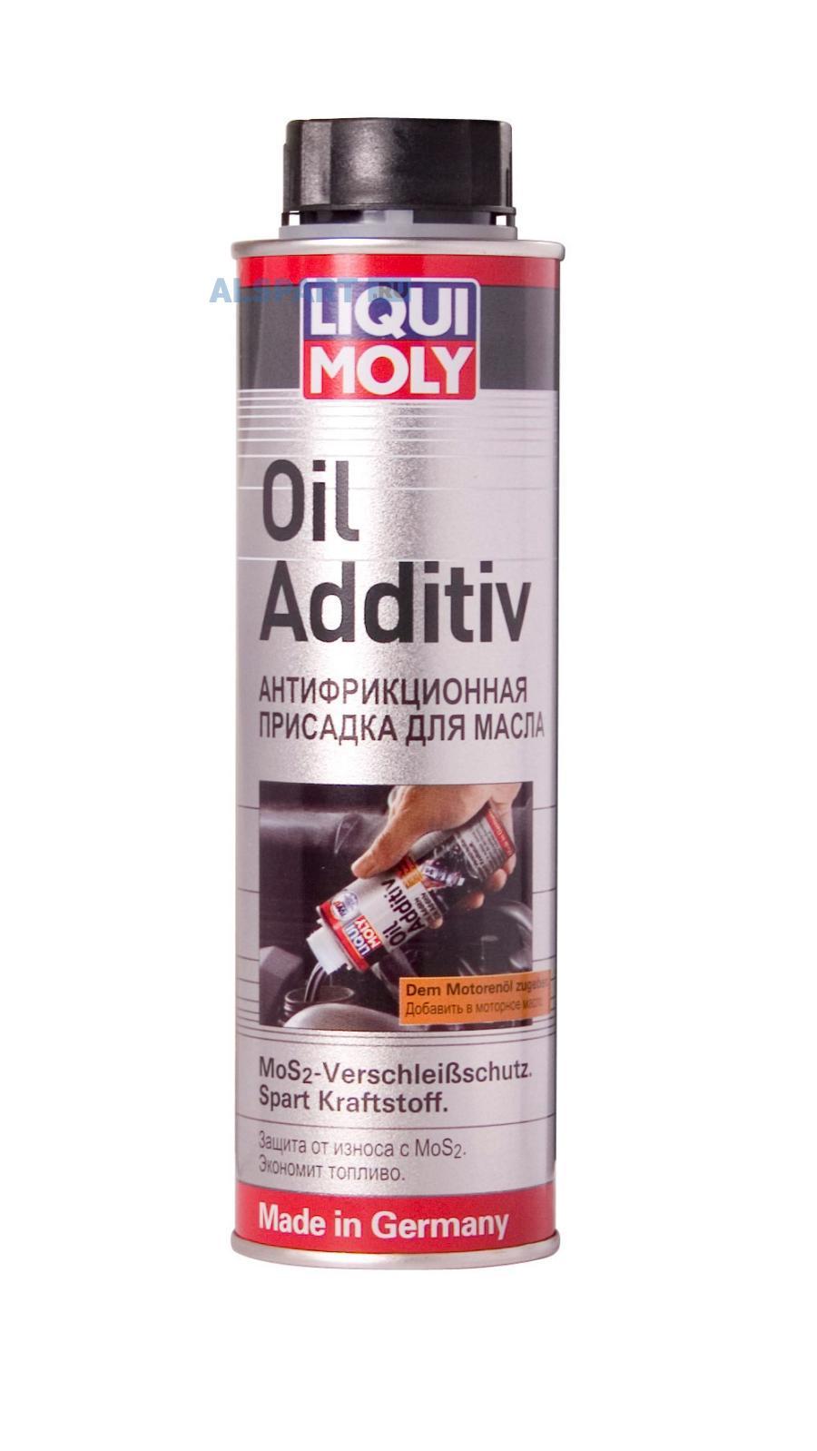 Присадка антифрикц. с дисульфидом молибдена в мот.маслоОil Additiv (0,3л)