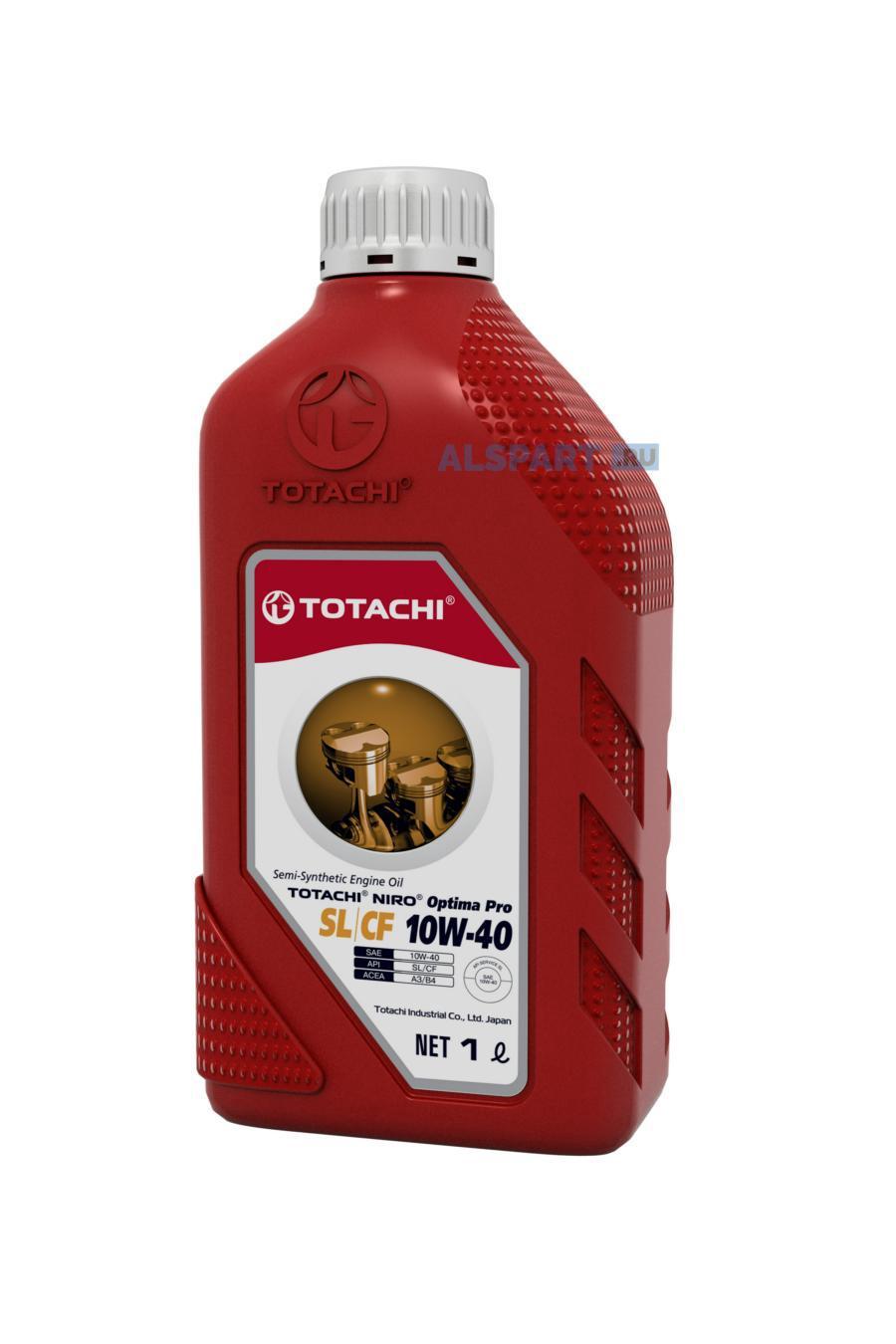 Масло моторное OPTIMA PRO SEMI-SYNTHETIC 10W-40