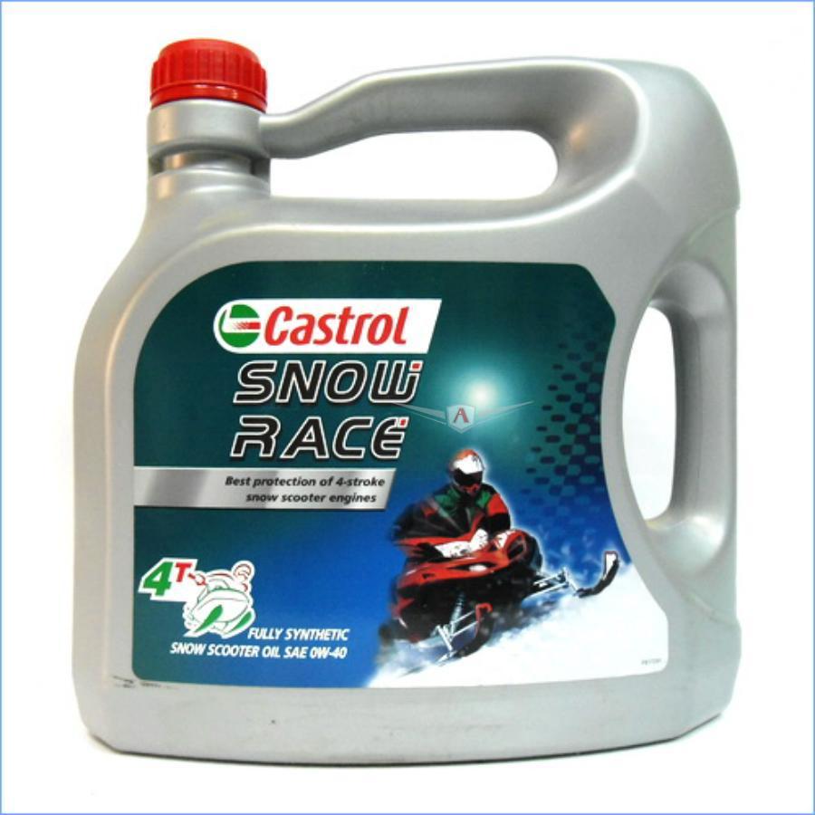 Масло моторное синтетическое Snow Race 4T 0W-40, 4л