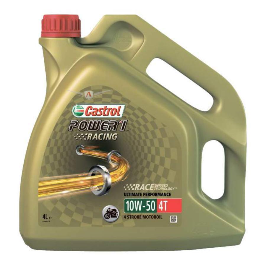 Масло моторное синтетическое Power 1 Racing 4T 10W-50, 4л