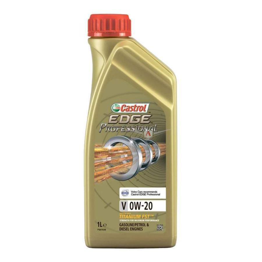 Масло моторное синтетическое EDGE Professional V Titanium FST 0W-20, 1л