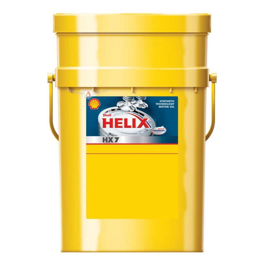 Масло моторное полусинтетическое Helix HX7 10W-40, 20л