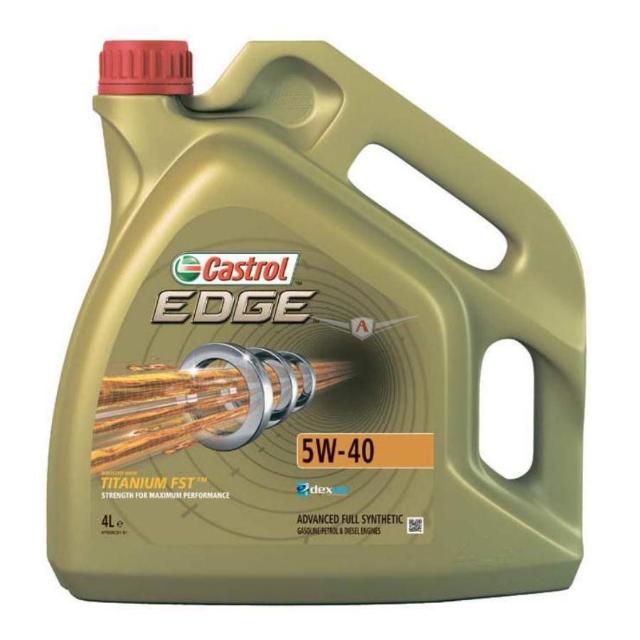 Масло моторное синтетическое EDGE Titanium FST 5W-40, 4л
