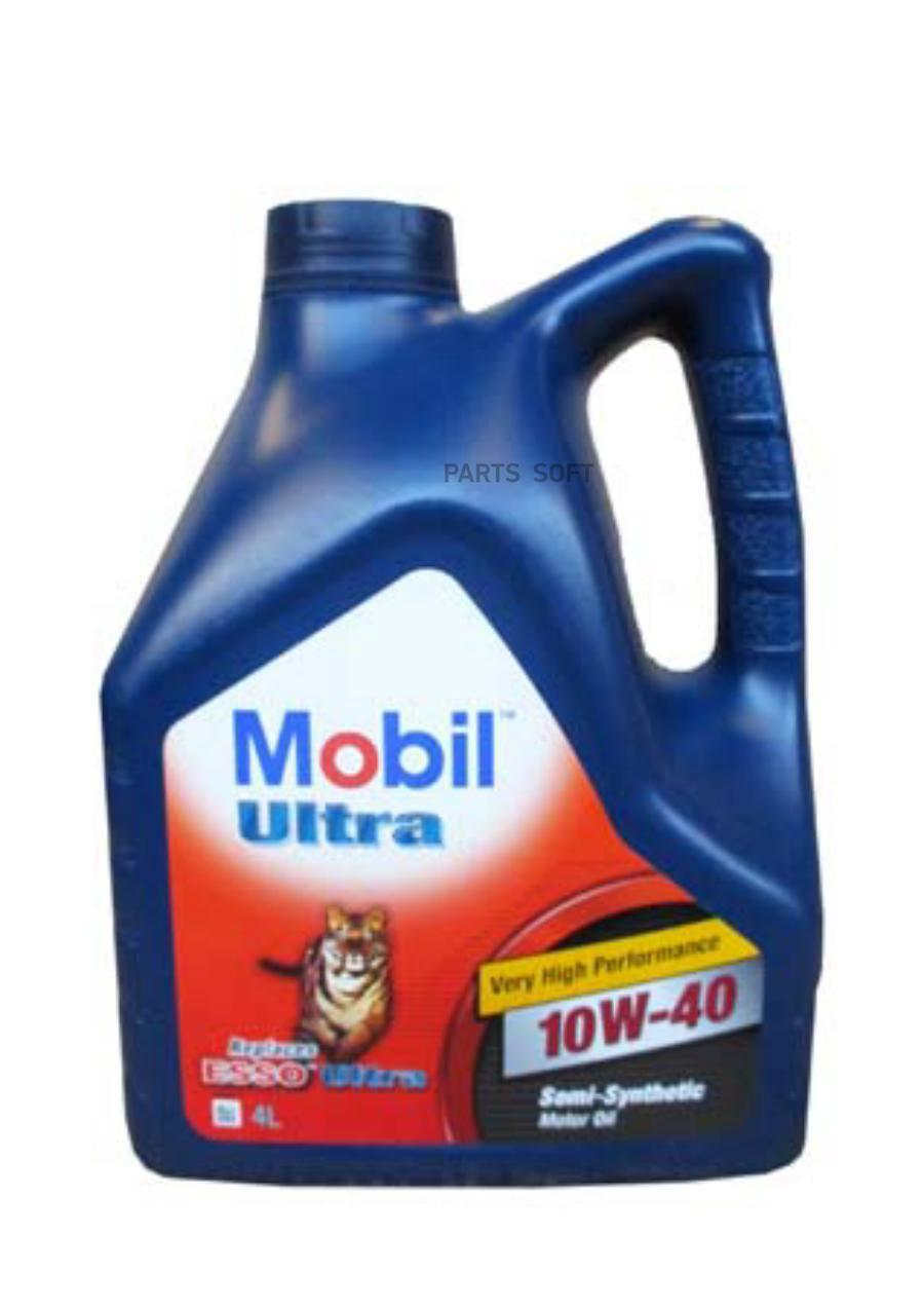Масло моторное полусинтетическое ULTRA 10W-40, 4л
