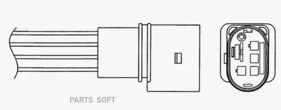 Датчик кислородный R LZA07V1