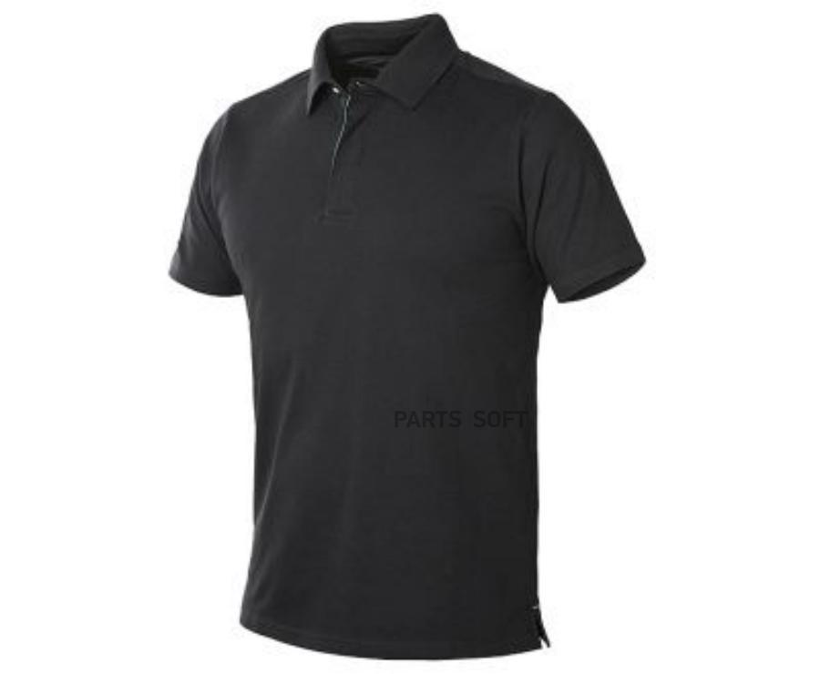Мужская рубашка поло Skoda Men's Polo Shirt Black/Green