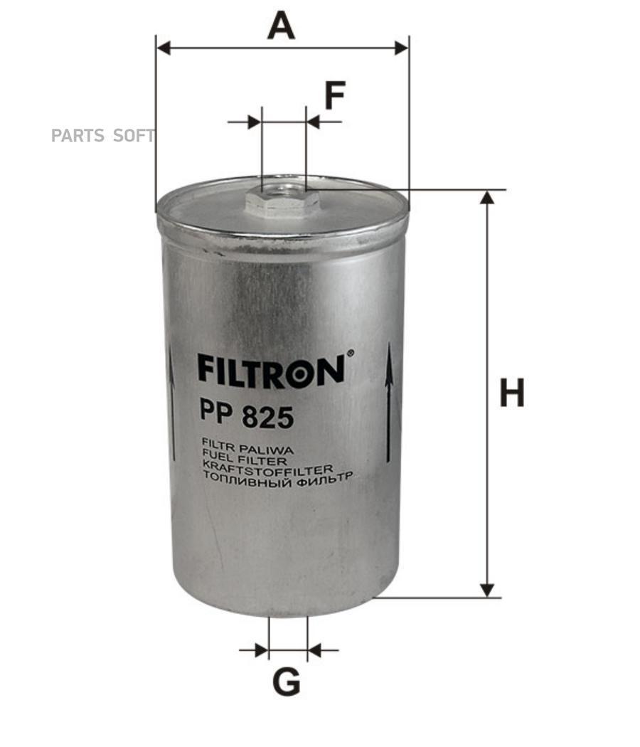 Фильтр топливный SAAB