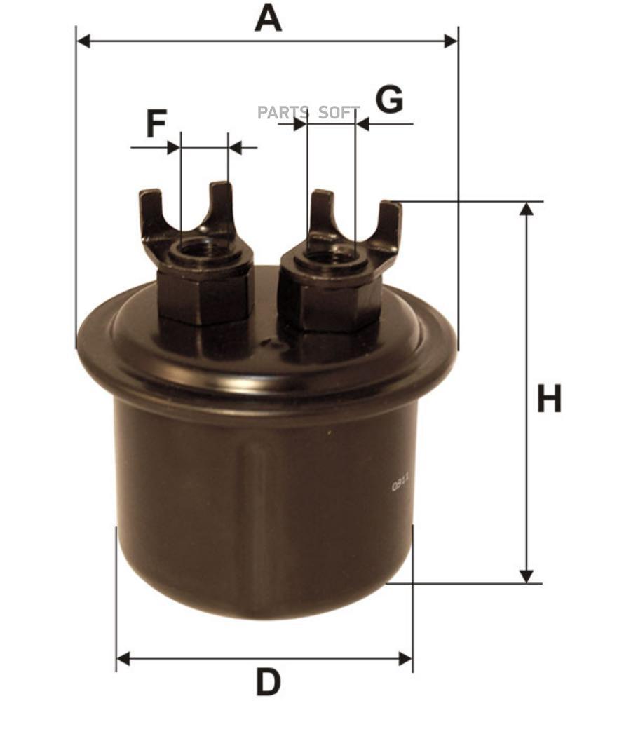 Снят с производства Фильтр топливный HONDA