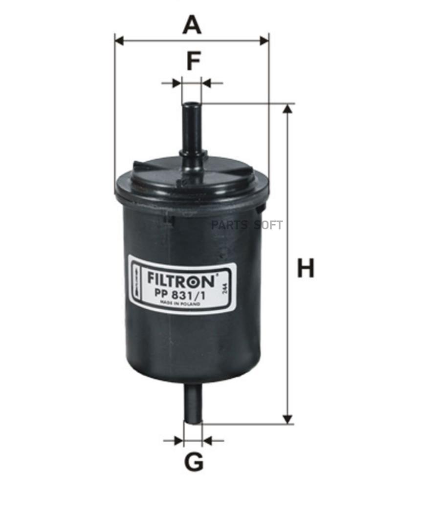 Фильтр топливный RENAULT