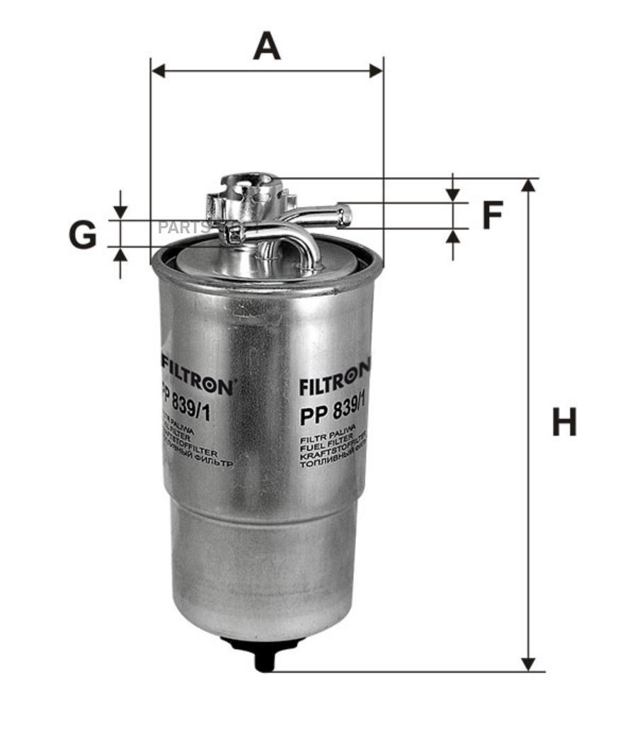 Фильтр топливный VW GROUP