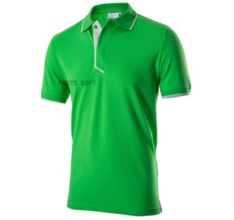 Поло мужское зеленое Essential L