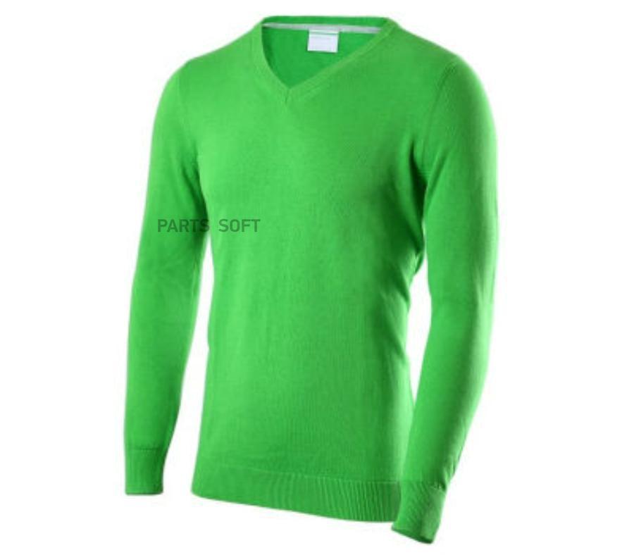 Мужской пуловер зеленый XL
