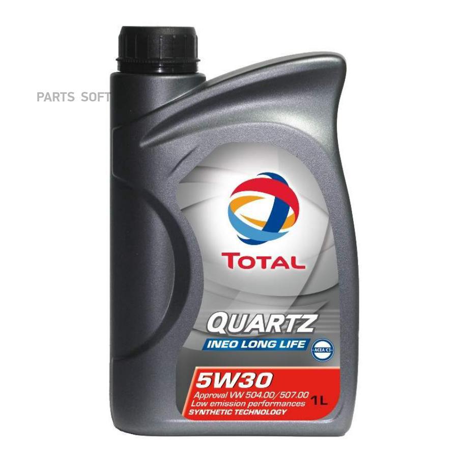 Масло моторное синтетическое QUARTZ INEO LONG LIFE 5W-30, 1л