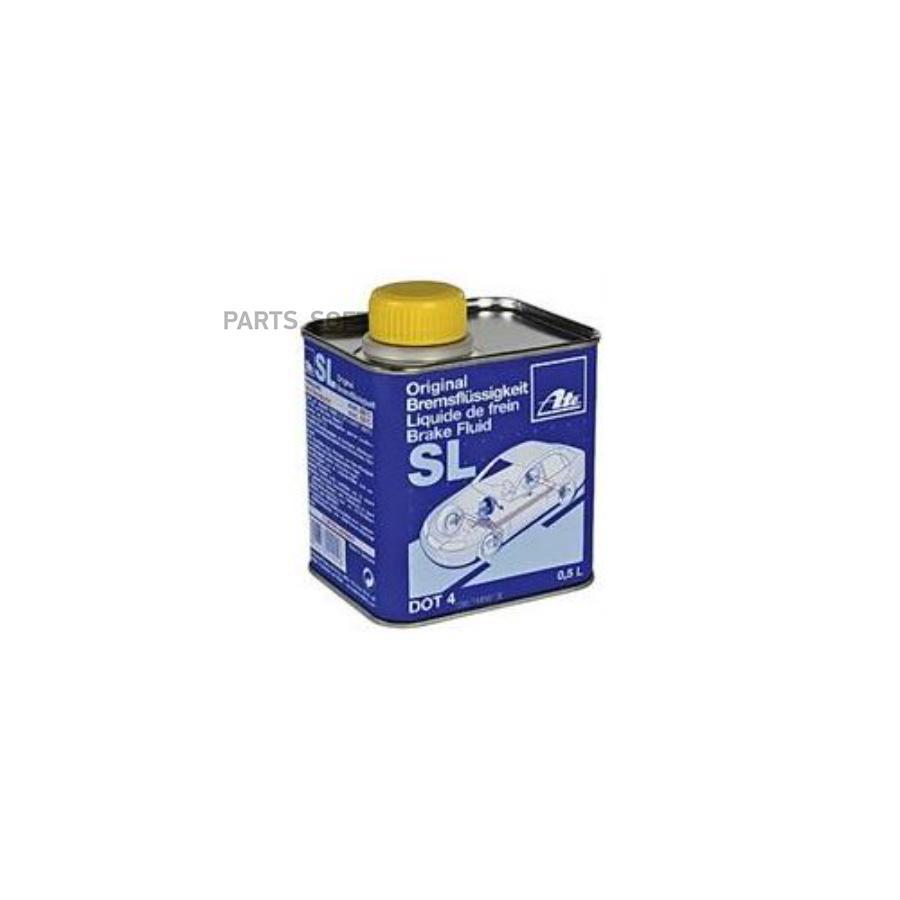 Жидкость тормозная dot 4, 'Brake Fluid SL', '0,5л
