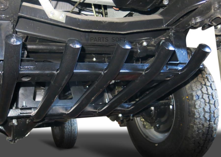 Защита рулевых тяг из трубы