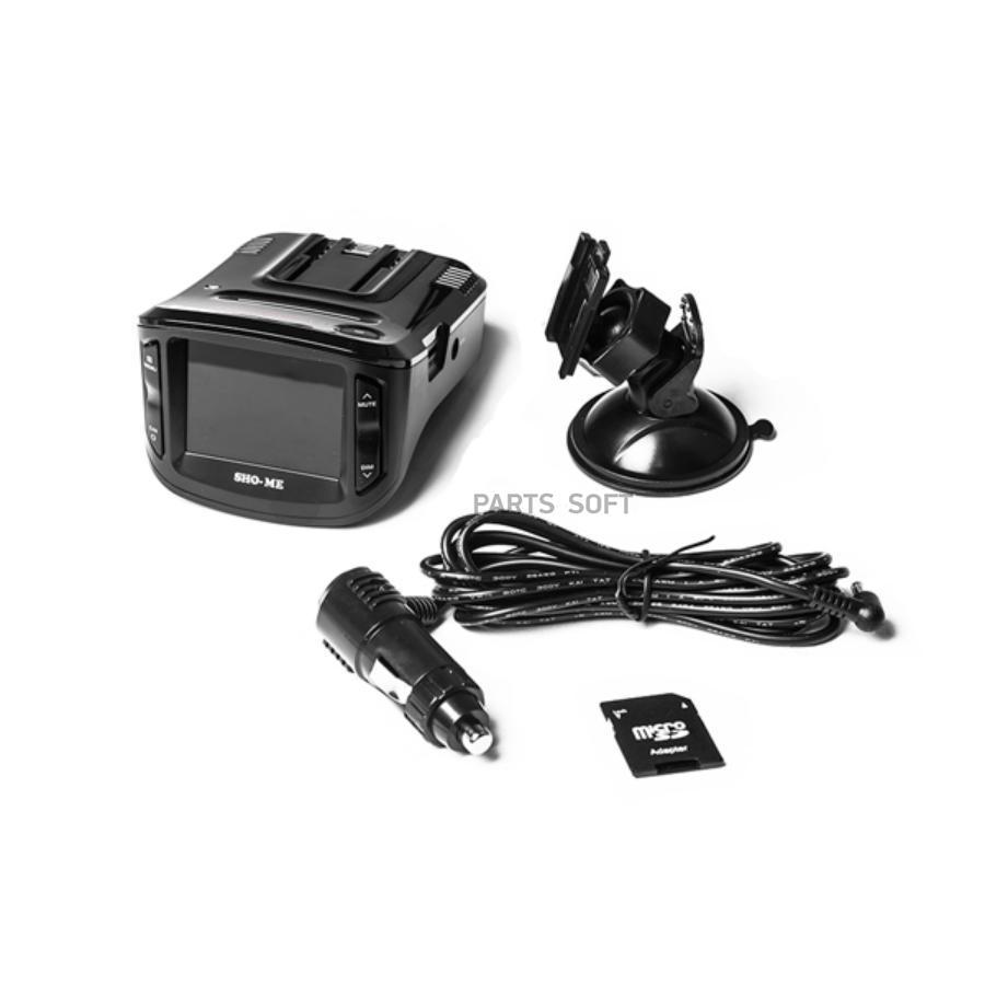 SHO-ME Combo №1 A7 - видеорегистратор с антирадаром