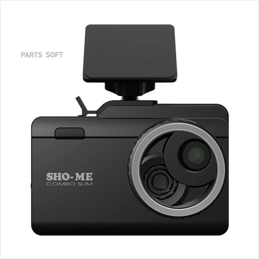 SHO-ME Combo Slim - видеорегистратор с антирадаром