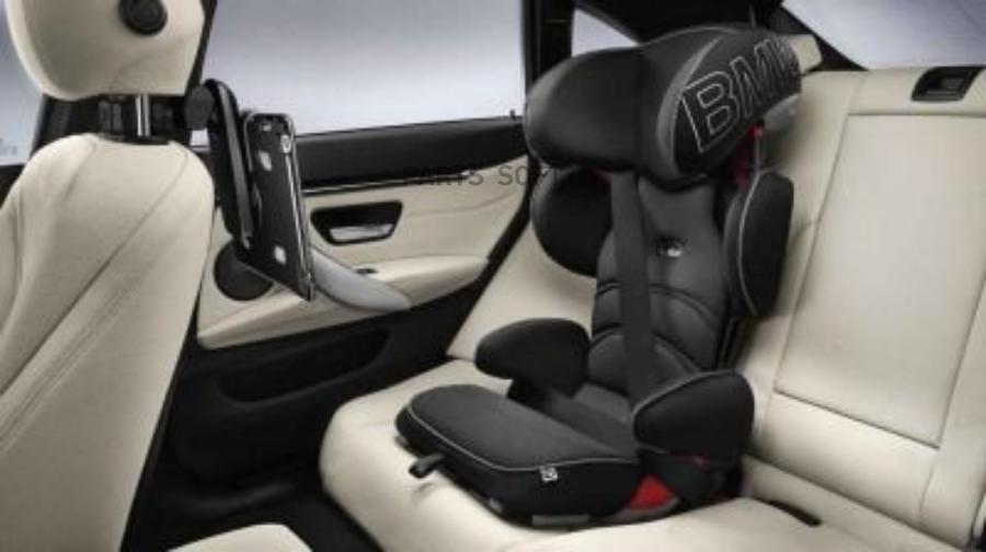 Детское автокресло BMW Junior Seat 2-3 Black - Anthracite New