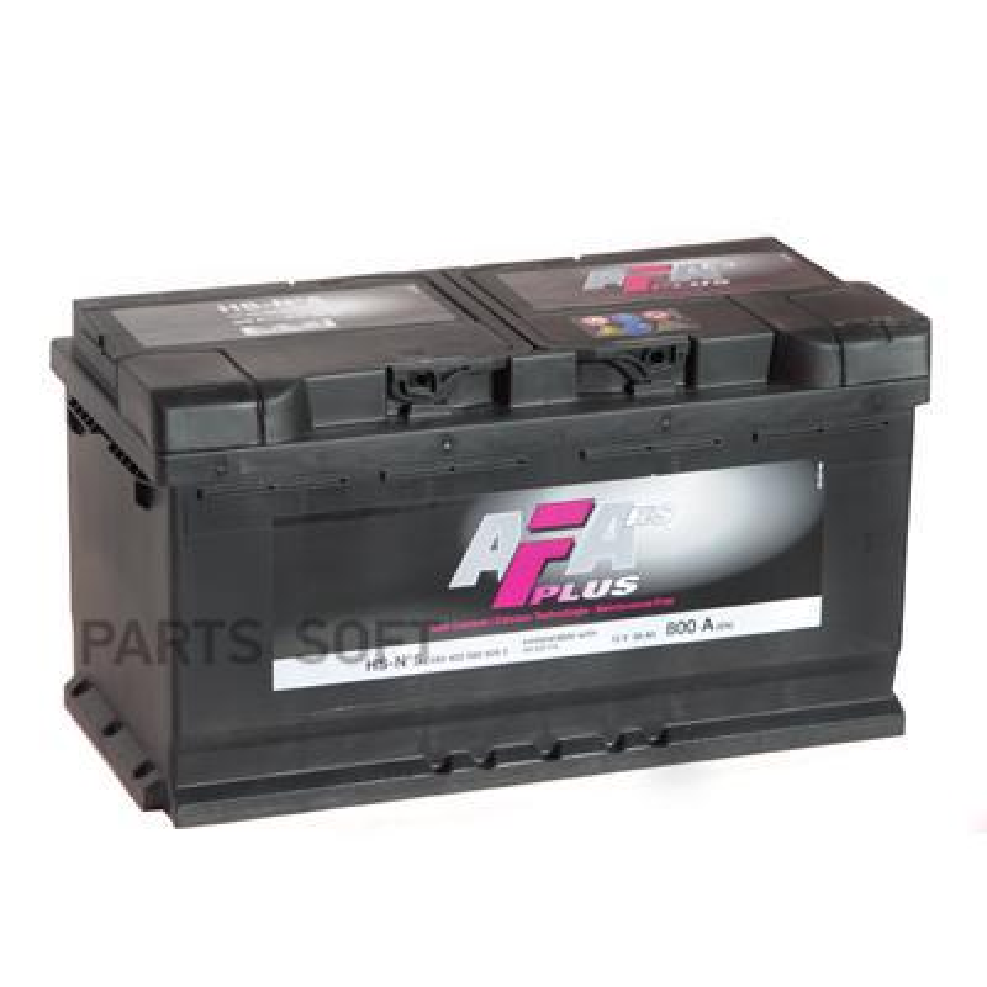 Аккумулятор AFA 95 А/ч 595402 HS ОБР EN 800