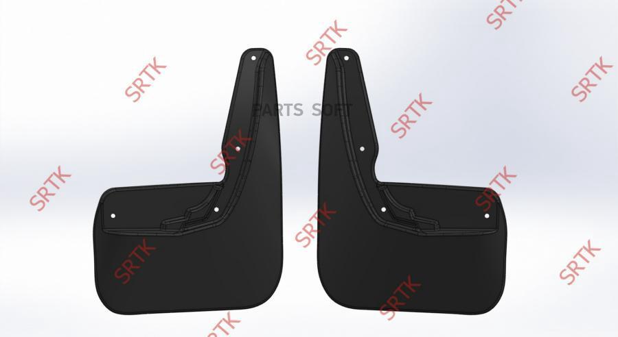 Брызговики резиновые для Lada  X-RAY (2015-) Задние