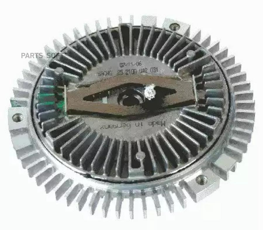 Вискомуфта вентилятора