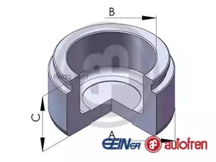 Поршень тормозного суппортаперед D43