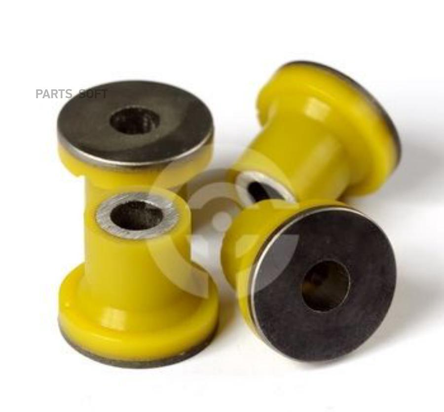 Комплект полиуретановых сайлентблоков рулевой рейки, из 4 шт