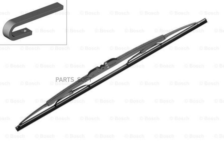 Щетка стеклоочистителя задняя Twin 425mm (H420)