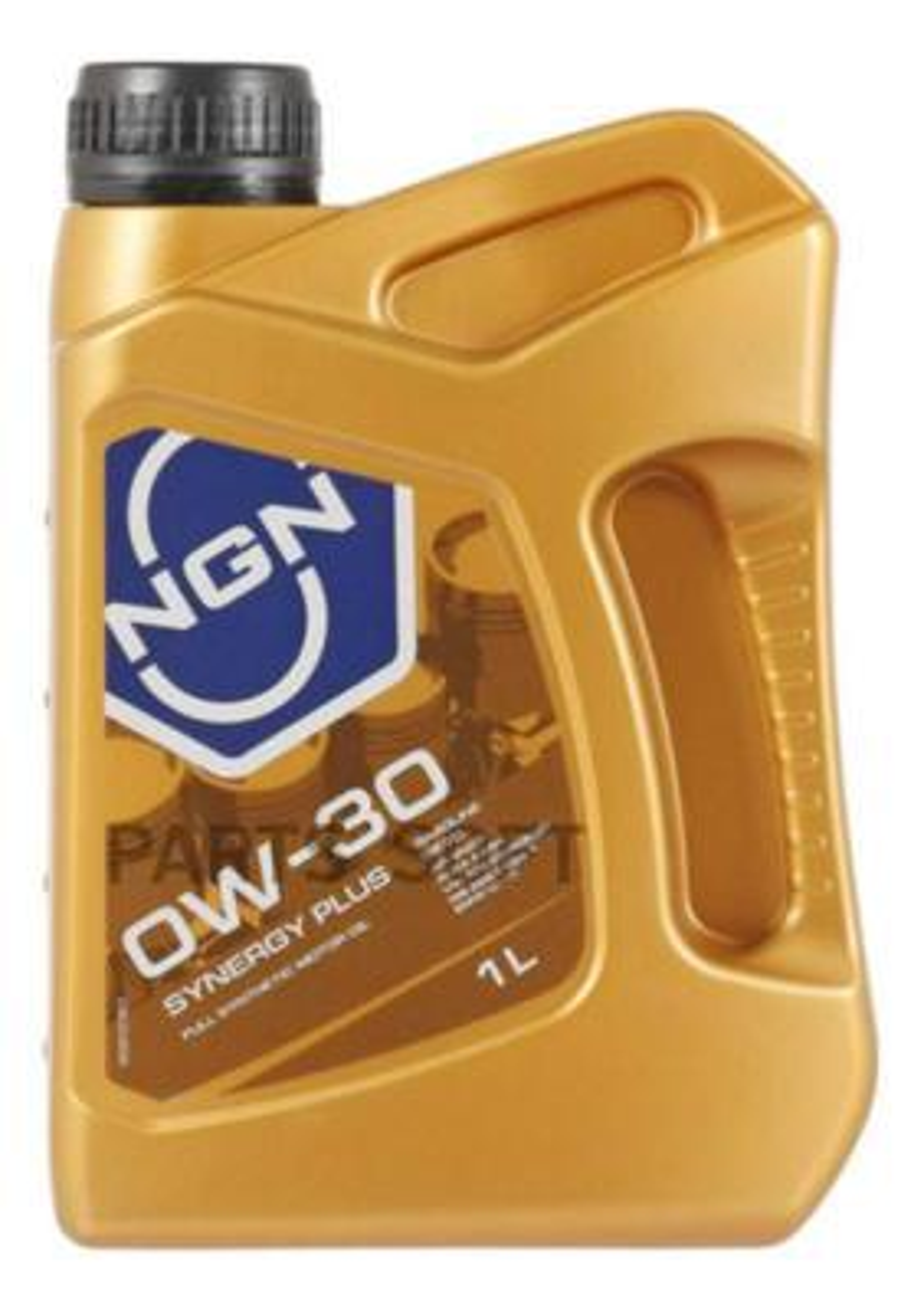 0W-30 SYNERGY PLUS SL/CF 1л (синт. мотор. масло)