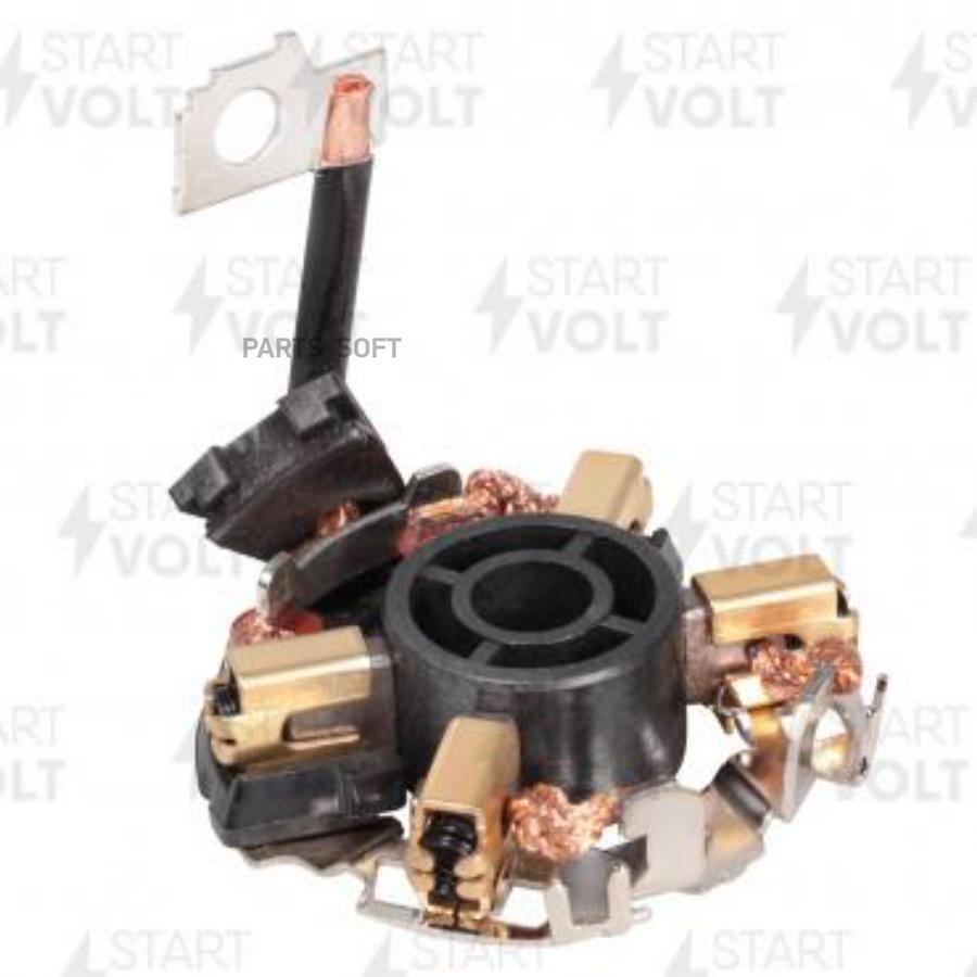 Узел щеточный стартера для а/м VAG Passat (96-)/Superb (02-) 1.8i (VBS 1810)