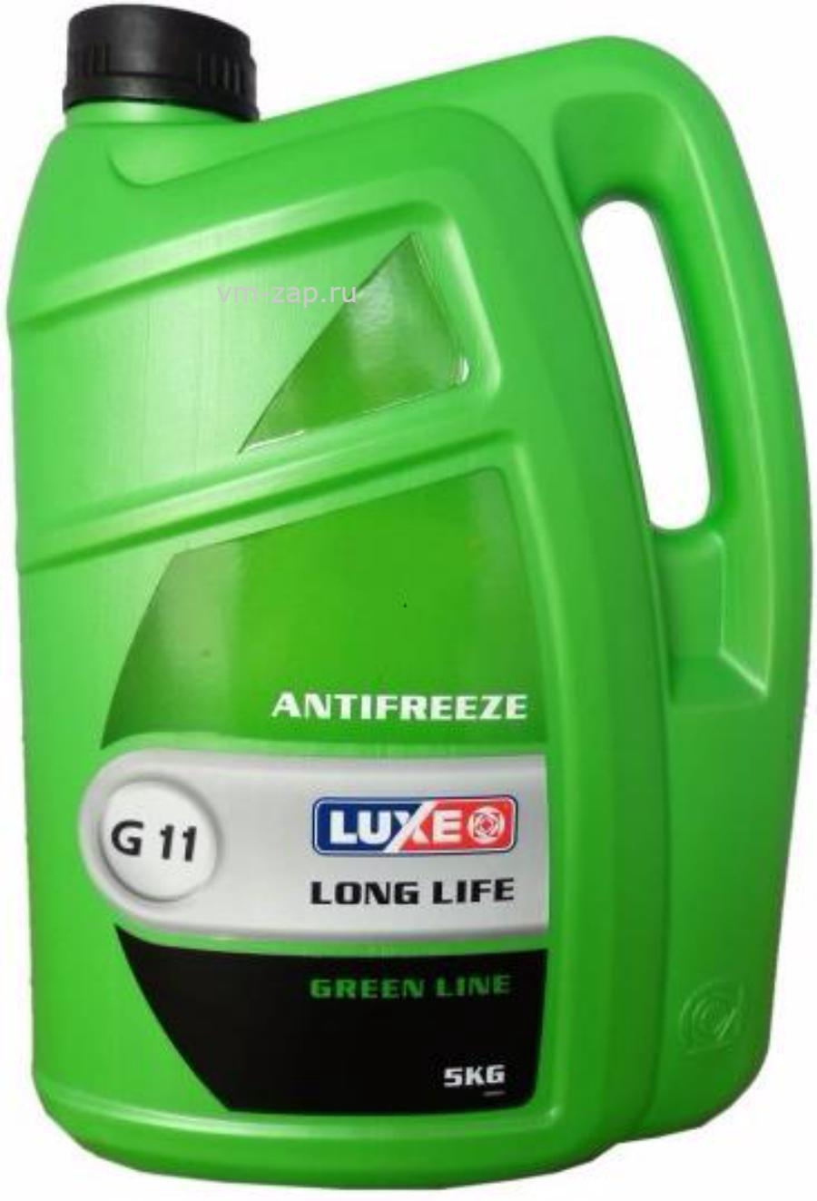 Антифриз готовый к применению LUXE Antifreeze Green Line G11 (5л)