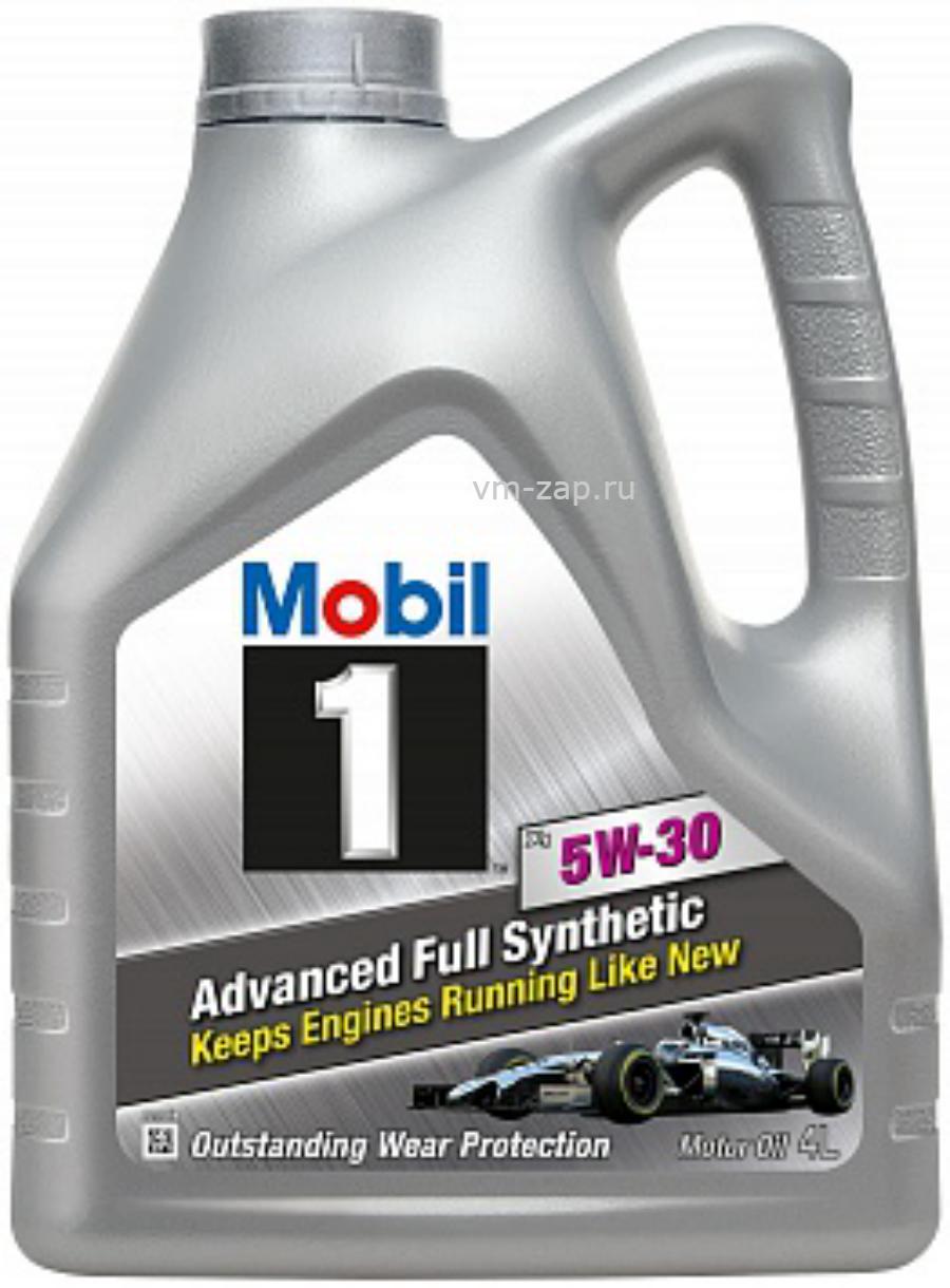 Масло моторное синтетическое Mobil 1 x1 5W-30, 4л