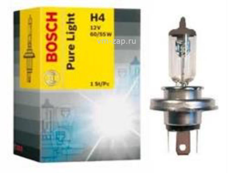 Лампа галоген Pure Light H4 12В 60/55Вт