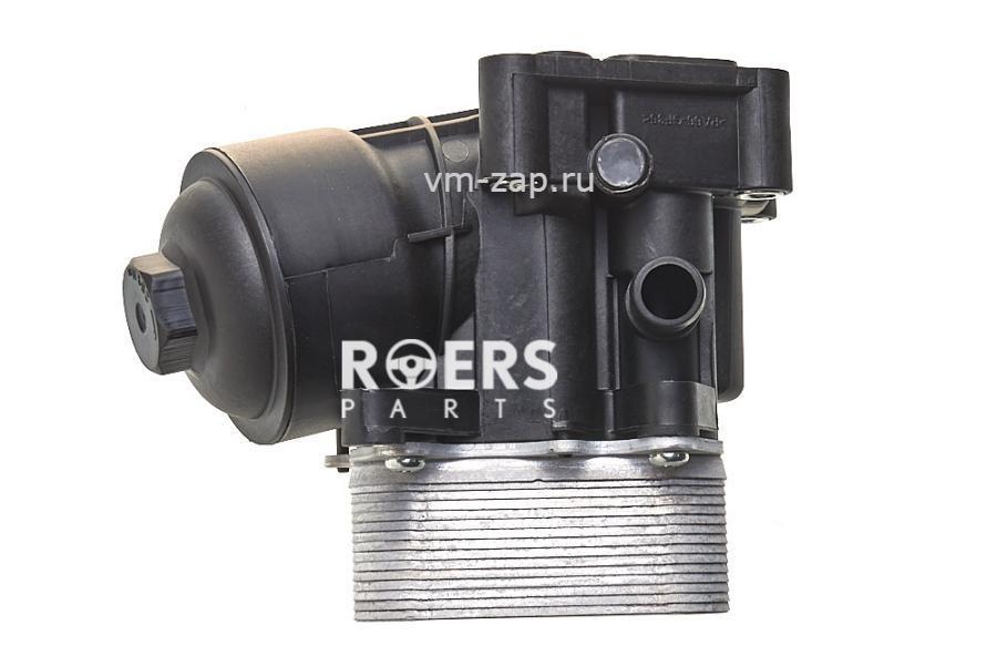 Корпус масляного фильтра с радиатором