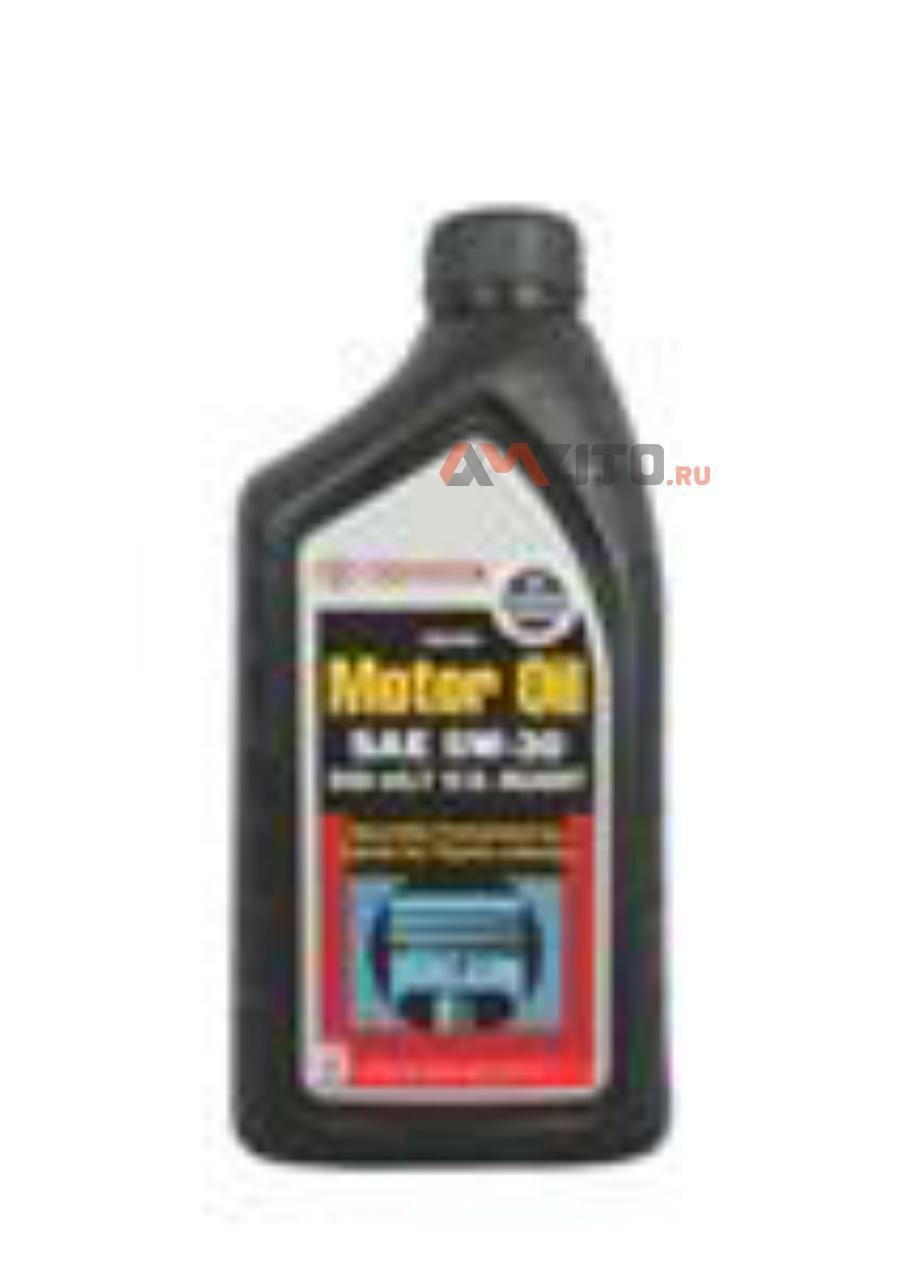 Масло моторное 5W30 TOYOTA 1л полусинтетика SN (США)