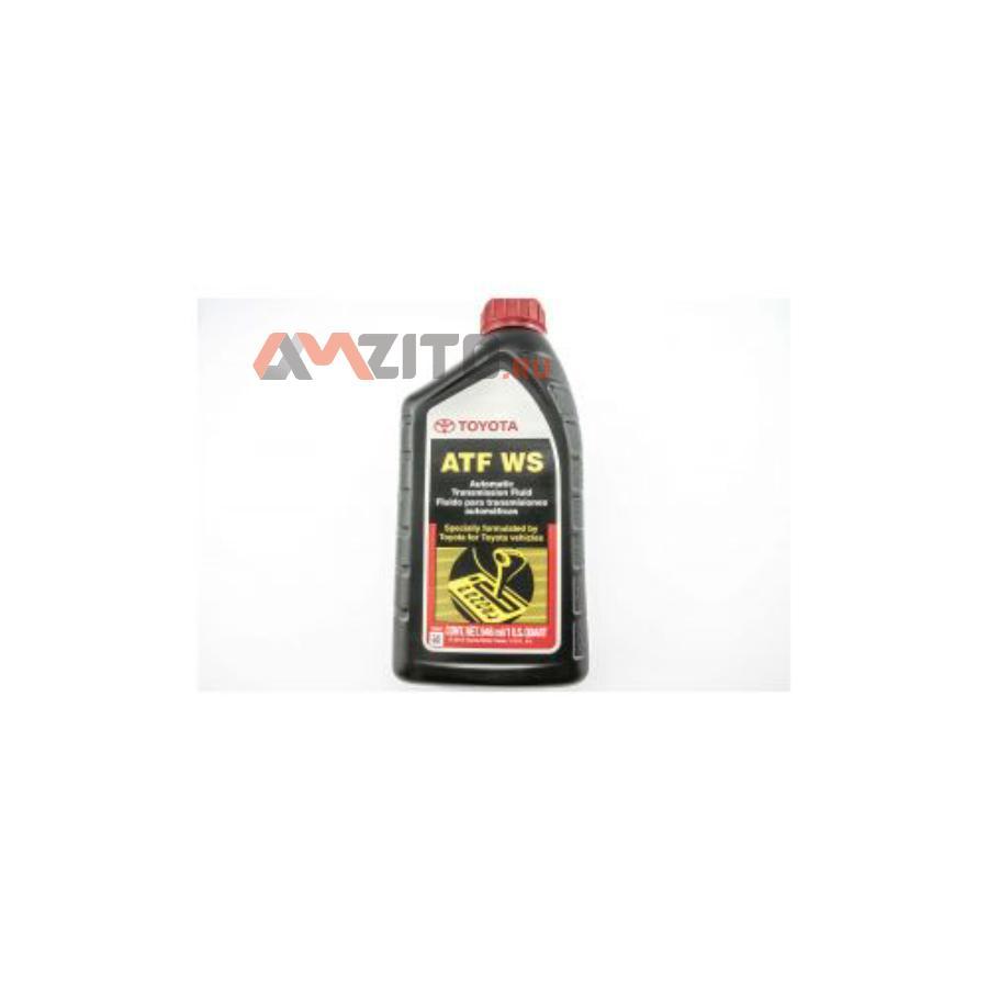Масло трансмиссионное TOYOTA 1л синтетика ATF WS (США)