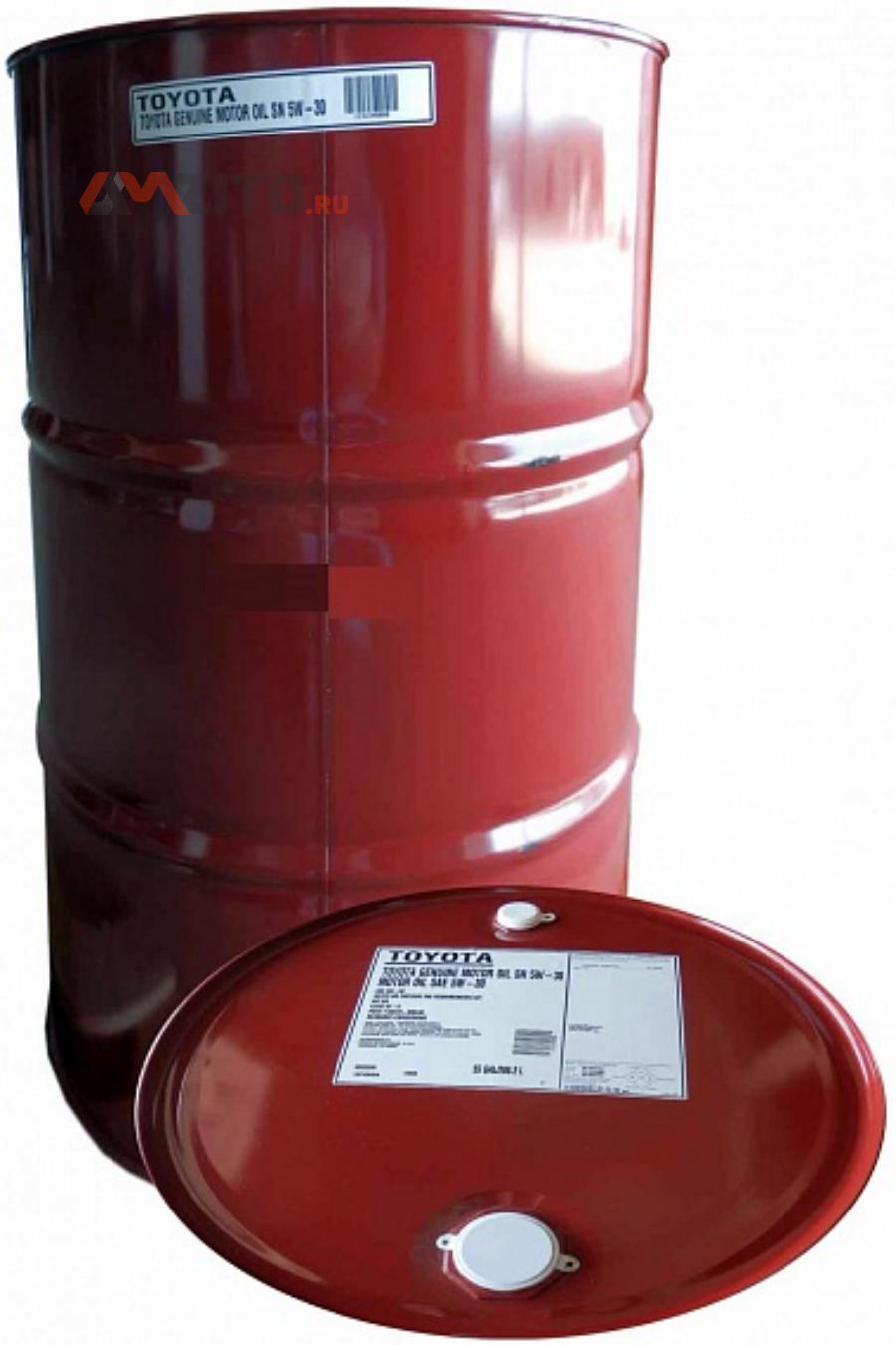 Моторное масло TOYOTA Motor Oil SM/SN SAE 5W-30 (208л)