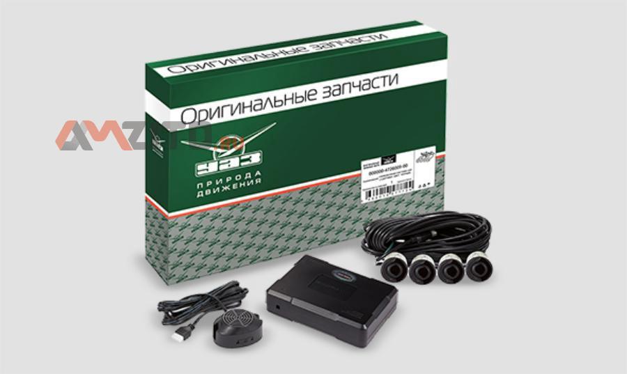 Парковочная система UAZ (4 датчика. цвет: черный) УАЗ 000000472600900