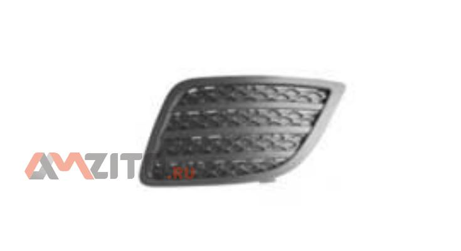 Решетка в бампер без отв д/птф (06-08) FORD FIESTA VI, 11.01 - 10.08