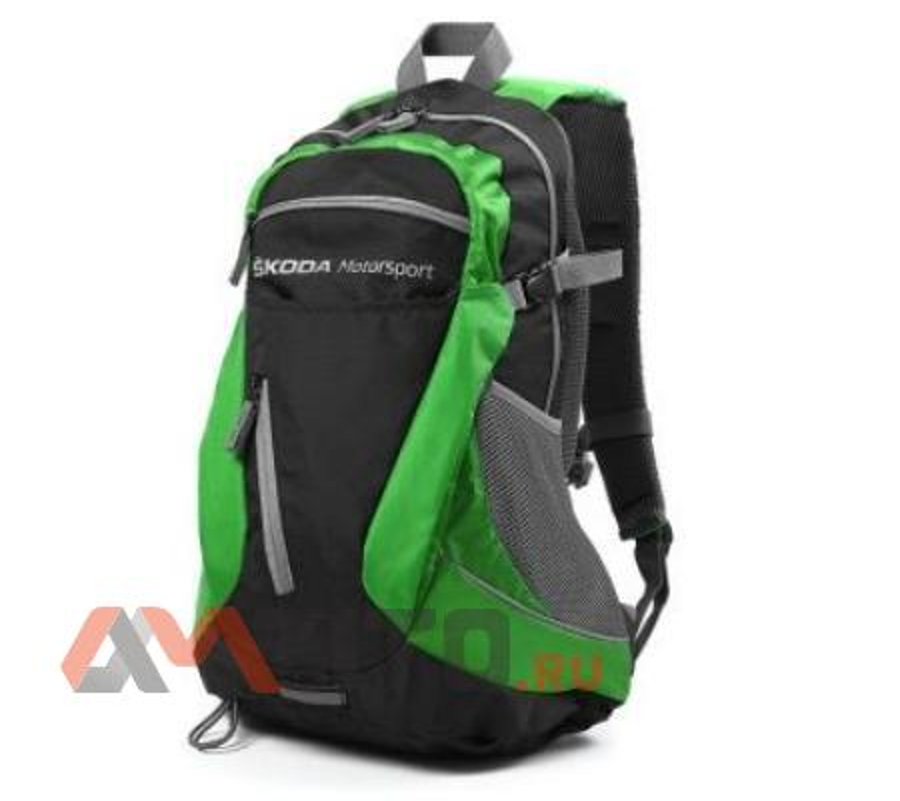 Рюкзак Skoda Motorsport Backpack Black Green
