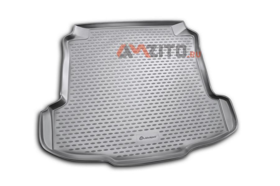 Коврик в багажник VW Polo 2010->, сед. (полиуретан)