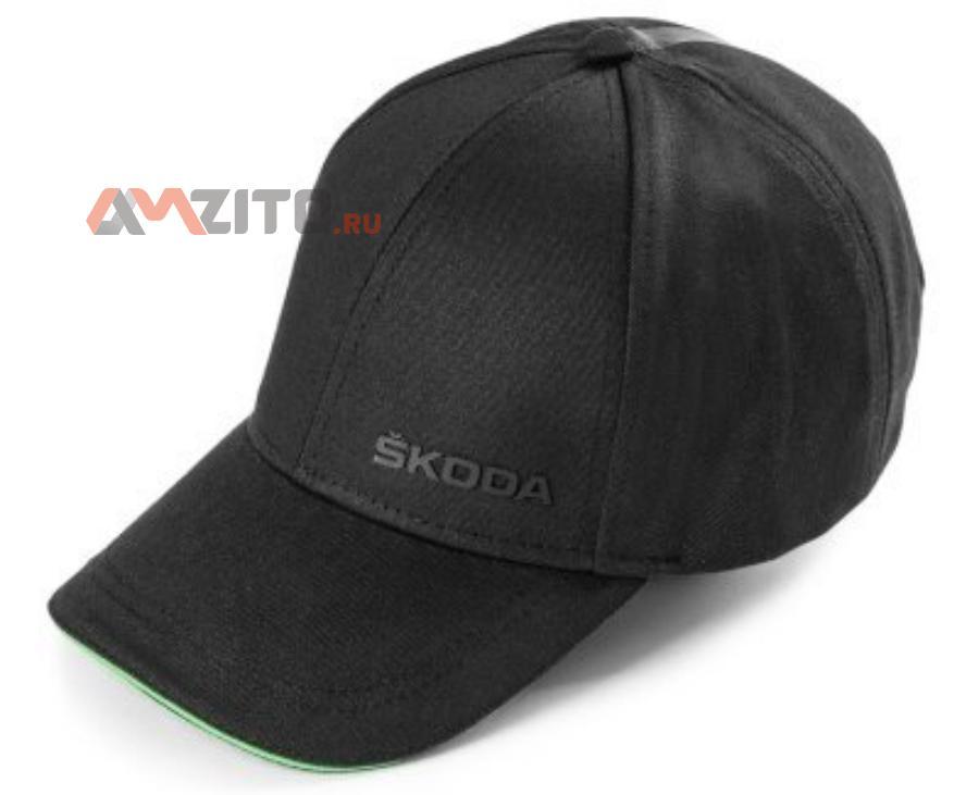 Бейсболка Skoda Unisex чёрная