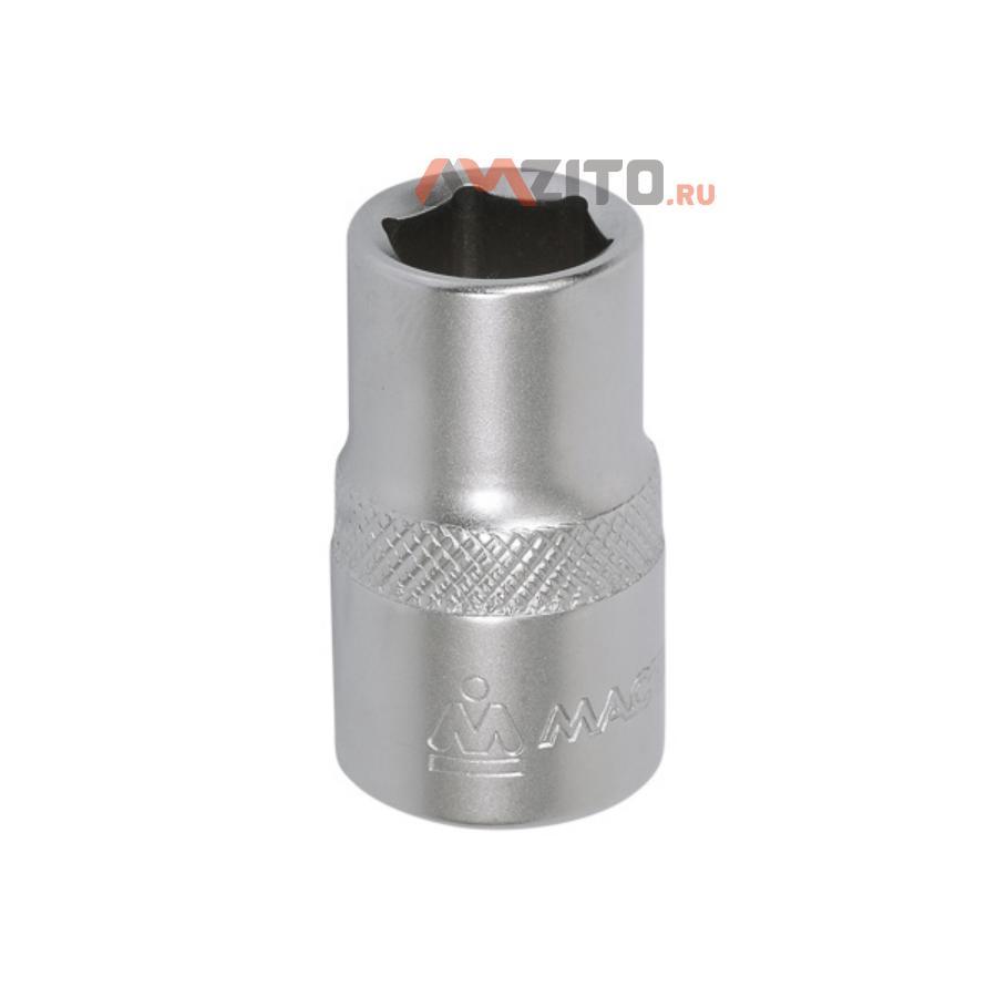 "Головка торцевая стандартная шестигранная 1/2"", 09 мм МАСТАК 000-40009"